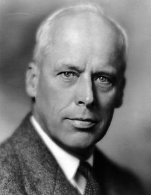 Socialist Norman Thomas, 1937